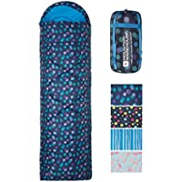 Mountain Warehouse Apex 250 Square Shaped Sleeping Bag – Two Way Zip Camping Bag, Lightweight Sleep Sack, Compact With A Stuff Bag - Ideal for Camping, Extra Guests