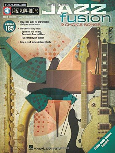 Jazz Fusion: Jazz Play-Along Volume 185 (Hal Leonard Jazz Play-along, Band 185)