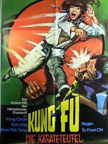 Kung Fu - Die Karateteufel - Yang Chuin - Filmposter A1 84x60cm gefaltet