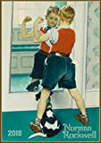 Pixiluv 2019Calendrier Mural [12Pages 20,3x 27,9cm] Awesome Boys par Norman Rockwell Vintage Magazine d'Illustration d'Amérique