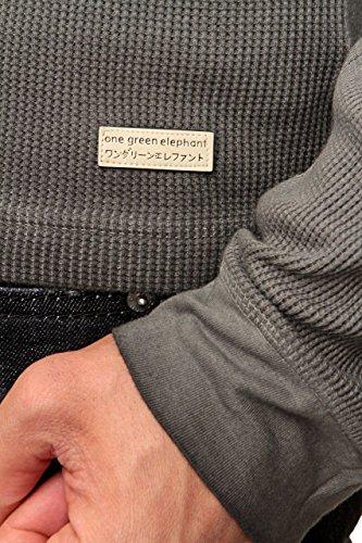 One Green Elephant Herren Shirt Langarmshirt BERGEN, Farbe: Grau Grau
