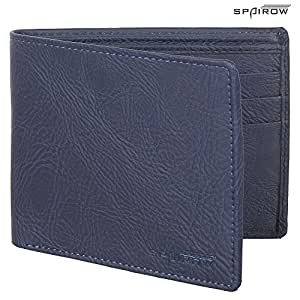 Spairow Synthetic Leather Wallet 204 Blue
