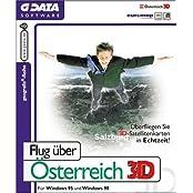 Flug über Österreich 3D