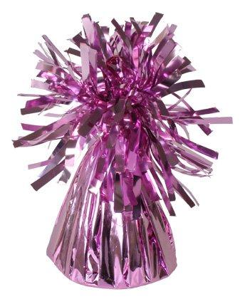 Paquete de 12 pesos de papel de aluminio rosa de alta calidad para globos