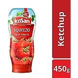 Kissan Ketchup, Fresh Tomato Squeezo, 450g