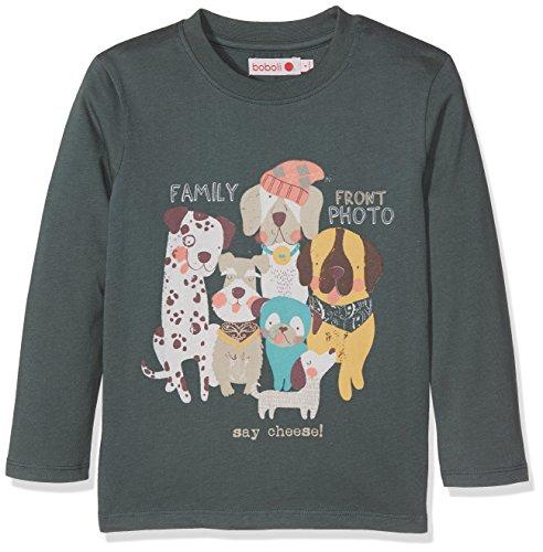 Bóboli Baby-Jungen Knit T-Shirt For Boy Grün (Eucalyptus 4396), 80
