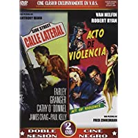 Side Street (1950) / Act Of Violence (1950) - Region Free PAL Double-DVD
