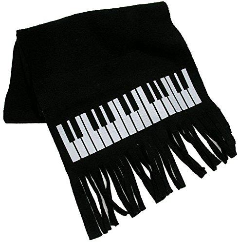 Fleeceschal Tastatur - Schönes Geschenk für Musiker (Tastatur Schal)