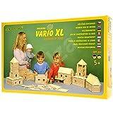 Walachia Vario XL Holzbausteine Holz Baukasten Modellbau Set 184 Teile
