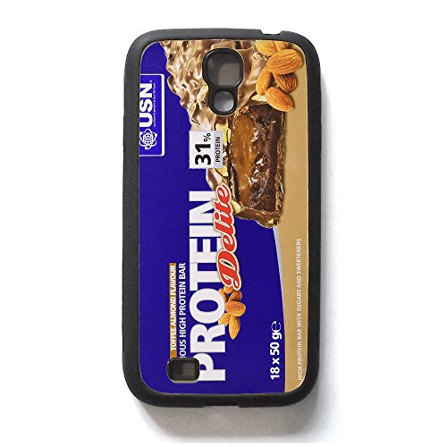 Mass Fuel Whey Protein (PROTEIN BAR Design, Studio Equipment, Funny Design Samsung Galaxy S3, Samsung Galaxy S4, Samsung Galaxy S5Rubber Hard Rückseite Phonecase, Gummi, Samsung Galaxy S4)