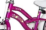BIKESTAR® Premium Design Kinderfahrrad für coole Kids ab 4 Jahren ★ 16er Deluxe Cruiser Edition ★ Creamy Violett -