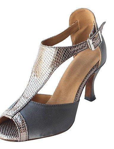Sandales femme mode moderne personnalisé du Satin Violet Chaussures de danse latine(plus de couleurs) US9/EU40/UK7/CN41