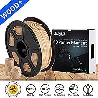 3D Printer Filament PLA+,PLA+ Filament 1.75 mm SUNLU,Low Odor Dimensional Accuracy +/- 0.02 mm 3D Printing Filament,2.2 LBS (1KG) Spool 3D Printer Filament for 3D Printers & 3D Pens