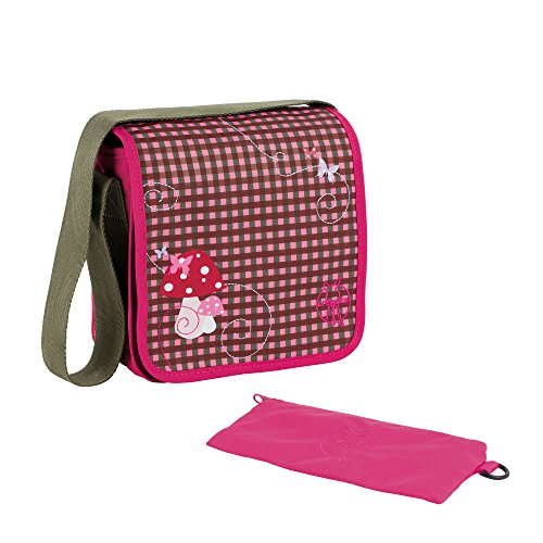 Lässig Mini Messenger Bag Kindergartentasche, Mushroom magenta