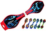 #7: RED Skelton/Class A/Wave board with Mirror surface /wheel flash/Militry bag