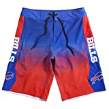 Forever Collectibles klew NFL Buffalo Rechnungen Farbverlauf Board Shorts, Herren, Buffalo Bills Gradient Board Short Extra Large 36, Buffalo Bills, 36