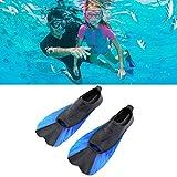 Lorenlli Misura ZHY-88 Medie Dimensioni Pinne Scarpe Durable Underwater Hunting Pinne Universal Diving Equipment per Il Nuoto e Le Immersioni