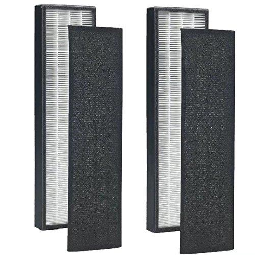 VacFit Luftreiniger Filter für germguardian flt5250flt5250pt Filter C True HEPA + Pre Filter, für Keim Guardian AC5000Serie 500051115250mit Pet Pure Behandlung Staubsauger Teil 2