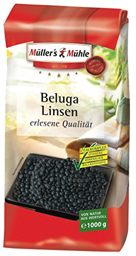 Müller's Mühle – Beluga Linsen – 1000g