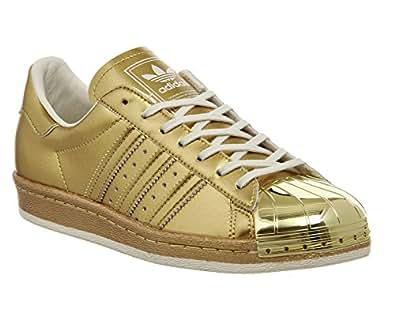 Adidas Superstar 80s Metallic Pack, gold metallic-gold metallic-off white, 13,5