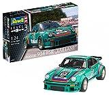"""Revell Modellbausatz Auto 1:24 - Porsche 934 RSR """"Vaillant"""" im Maßstab 1:24, Level 3, originalgetreue Nachbildung mit vielen Details, 07032"""