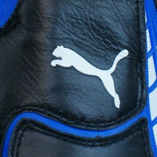 Puma V1.10 K SG Homme en cuir Chaussures de football Noir