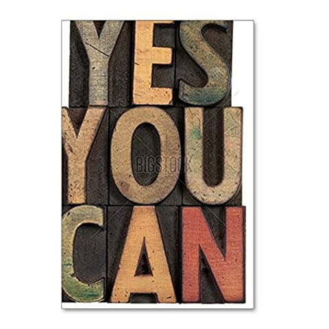 CafePress - Yes You Can - Motivationa - Postcards (Package of 8), 6