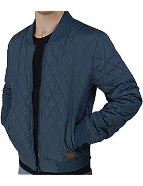 Cazadora urban air   Street Classics   chaqueta   Hombre   con patch de piel, acolchada   color negro, marina,...