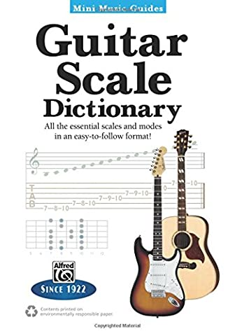 Mini Music Guides -- Guitar Scale Dictionary: All the Essential Scales and Modes in an Easy-to-Follow