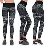 de59a0e0451d8f Formbelt Pantaloni da Corsa e da Yoga da Donna, con Tasca Lungo i Leggings  Elasticizzati