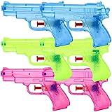 6 Stück Wasserpistolen Spritzpistolen Set 13 cm Kindergeburtstag Party Mitgebsel
