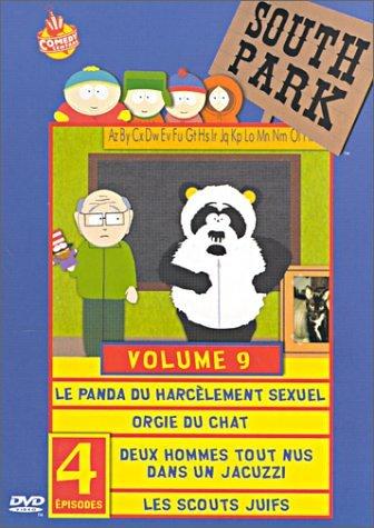 south-park-saison-3-vol9-le-panda-du-harcelement-sexuel-orgie-de-chat-deux-hommes-tout-nus-dans-un-j