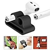 Airpods Headset Watch Band Holder per unisex,Supporto per Airpods,custodia in silicone anti-perso per Apple Airpods
