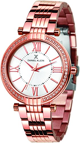 Daniel Klein Analog Silver Dial Women's Watch - DK11138-2