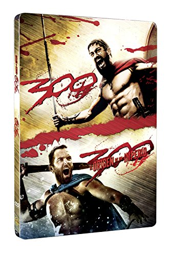 300 Pack 1&2 - 2 Discos Steelbook [DVD]