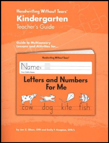 Handwriting Without Tears - Grade  K