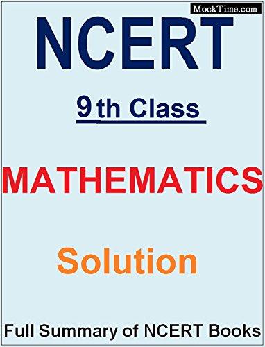 9th ncert math solution