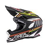 O'Neal 7Series MX Helm Chaser Schwarz Weiß Motocross Enduro Offroad Quad Cross, 0578-10, Größe M (57/58 cm)