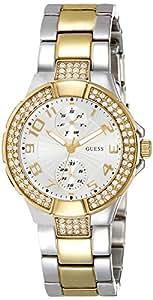 Guess Damen-Armbanduhr Chronograph Quarz Edelstahl W15072L3