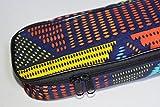 zealux® Bandoulière Réglable coloré 10mm éponge remplissage Étui pour ukulélé Ukulélé Sac et Étui 21 in Color-Point