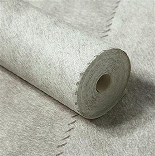 Struttura di cuoio della carta da parati strutturato ambientale muro in PVC per Soggiorno Camera da letto un rotolo 53 * 1.000 centimetri , m grey , 53*1000cm