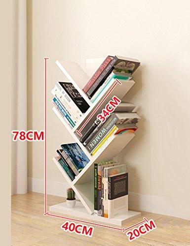 SUBBYE Einfache Moderne Wohnzimmer Bücherregale Baum Form Boden Steh Bücherregal Persönlichkeit...