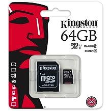 Keple | Carte memoire pour Canon PowerShot ELPH 330 HS 64GB SD Camera Caméscope Numérique Camcorder | Kingston Class 10 SDHC SDXC