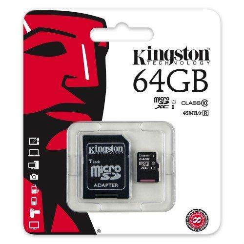 Keple | Fujifilm FinePix S2980 64GB SD Speicherkarte Karte fur Kamera Digitalkamera | Kingston Class 10 SDHC SDXC