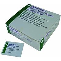 Safety First Aid D5201Hypaclean sterile salviette umide, confezione da 100pezzi