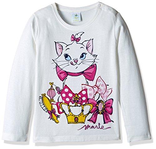 Marie Girls' T-Shirt (51SP7713_White_9 - 12 months)
