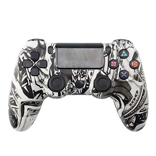 Manette pour PS4,Manette Sans Fil pour PS4,avec Contrôleur de Vibrations Portable sans Fil Bluetooth pour Manette...