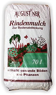 Rindenmulch 70 Liter Mulch Bodenabdeckung Rinden Rinde keine 60 L von Augustiner - Du und dein Garten