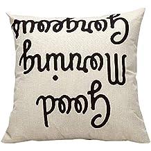 DIPOLA Funda de Almohada,Cojines en Sofá,Coche,Cama Cintura Throw Cushion Cover