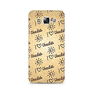 TAZindia Printed Hard Back Case Cover For Samsung Galaxy E7